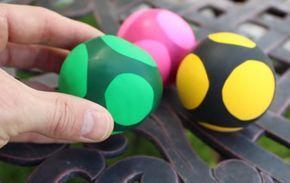 Une astuce pour créer une boule anti-stress maison !