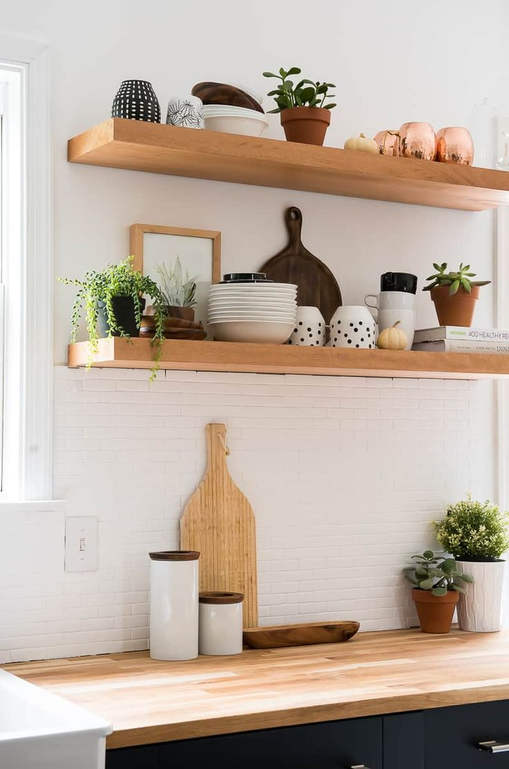 Decordots Contemporary Kitchen With Open Shelving: 266980 Best Bloggers' Best DIY Ideas Images On Pinterest