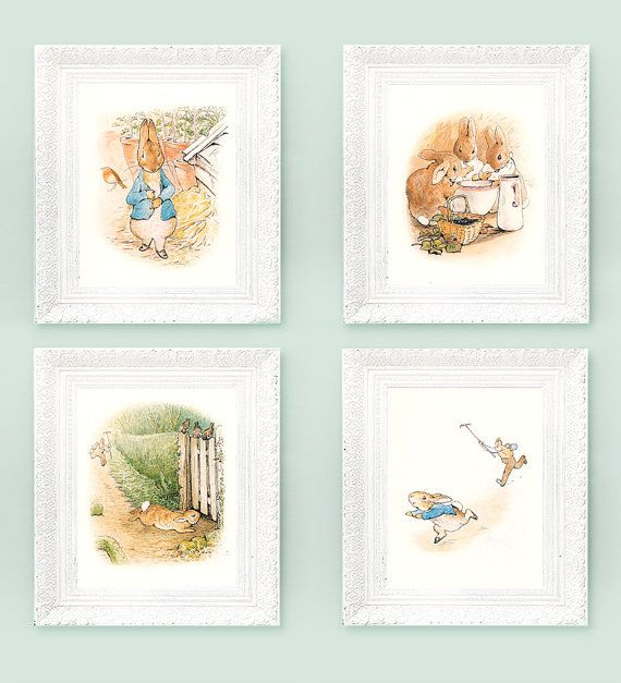 Beatrix Potter nursery inspiration