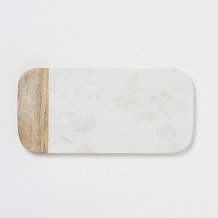 Marble & Wood Cheese Board