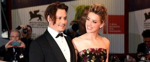 Johnny Depp and Amber Heard Share the Look of Love on the Red Carpet