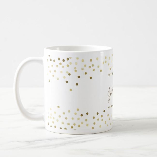 She Leaves A Little Sparkle Wherever She Goes Mug Zazzle Com Mugs Pattern Design Pattern Drawing
