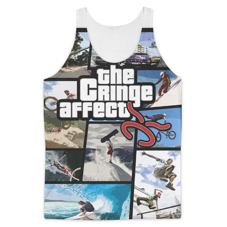 TCA GTA Concept Banner All Over Tank Top *LIMITED EDITION*