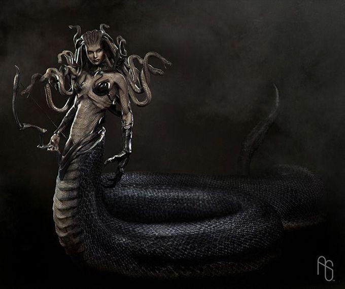 Gorgon Medusa   Thread: Medusa, Queen of The Gorgons (Hunter and Assassin Kits)