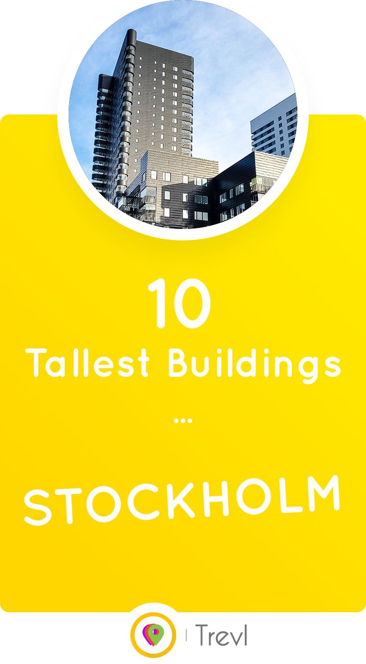 Discover the most beautiful of the tallest buildings in Stockholm, Sweden.