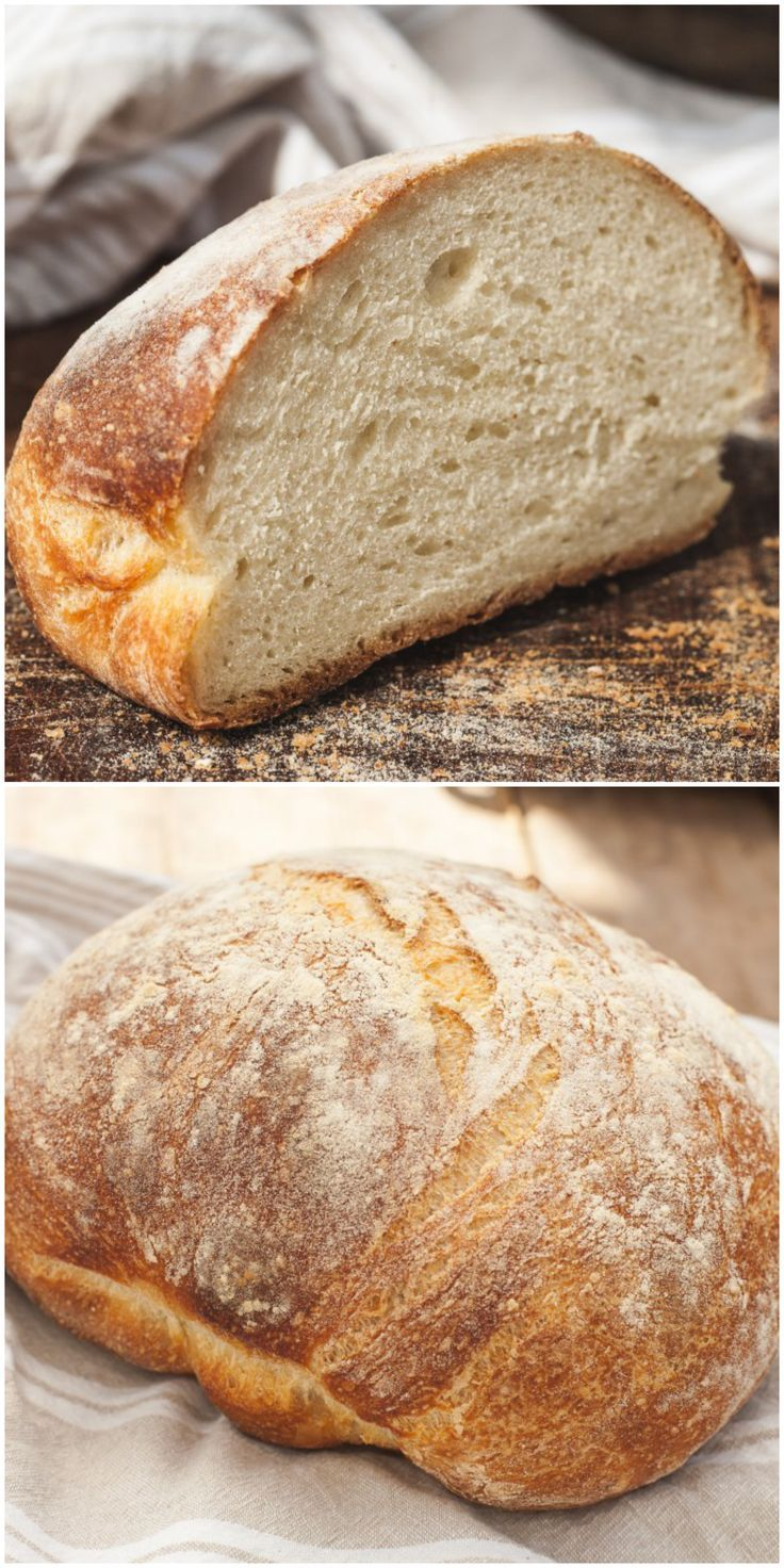 Homemade bread on the leaven is harmful and useful