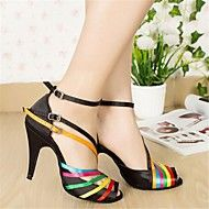 Latin Women's Sandasls Satin Buckie Dance Shoes(More Colors)
