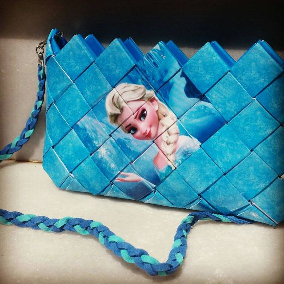 Frozen bag by myecobags on Etsy ♡♡