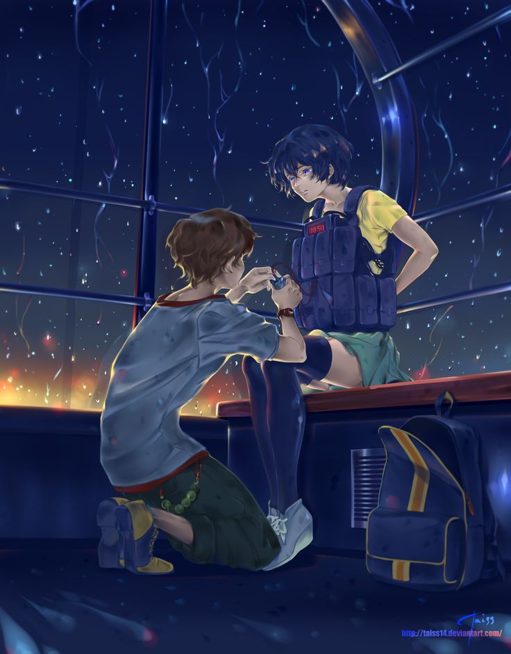 Twelve y Lisa | Ferris wheel. Terror in Resonance fanart. by Taiss14 on DeviantArt