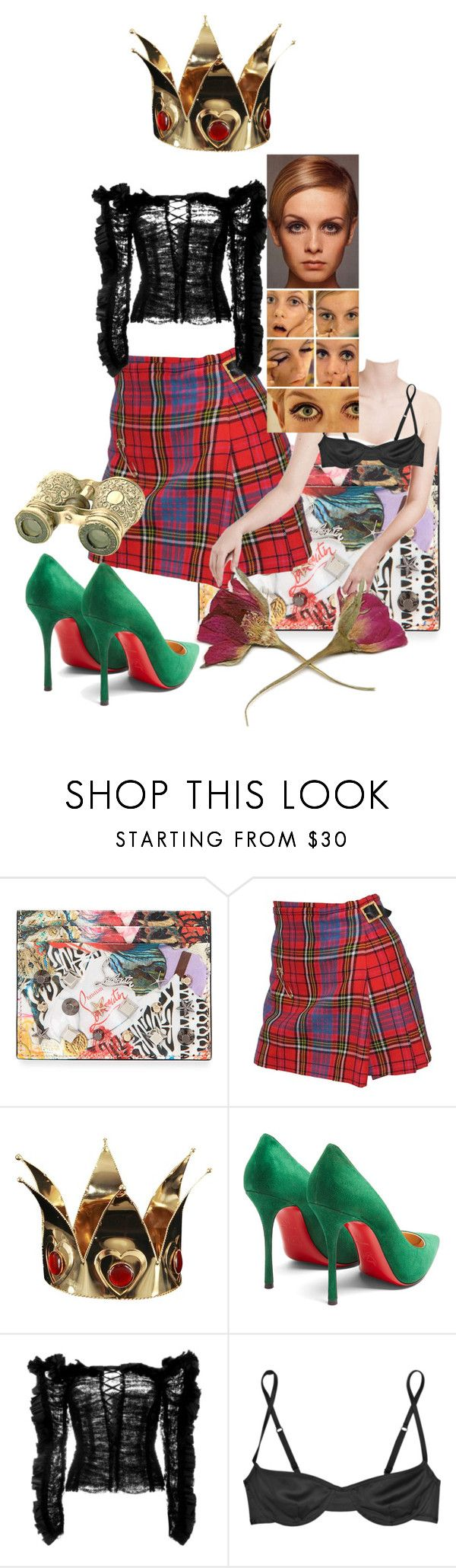 """Untitled #212"" by gina-stewart75 on Polyvore featuring Christian Louboutin, Vivienne Westwood, Buy Seasons, Roberto Cavalli and Marni"