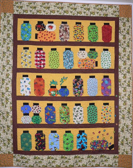 17 Best images about I Spy Quilts on Pinterest Stitching, Kid quilts and Jars