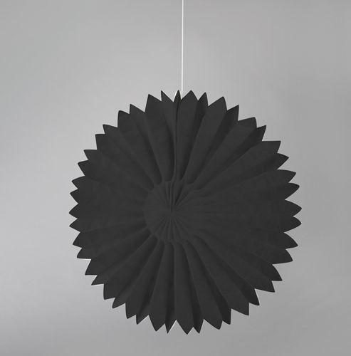 Black Paper Tissue Fans