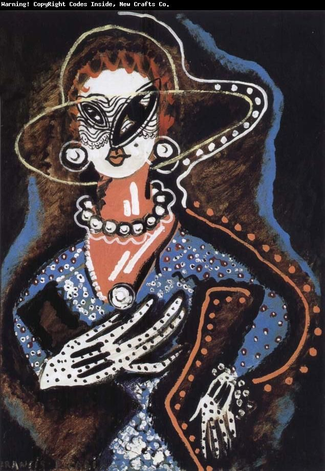 Francis Picabia, Woman with a Monocle, 1922-24