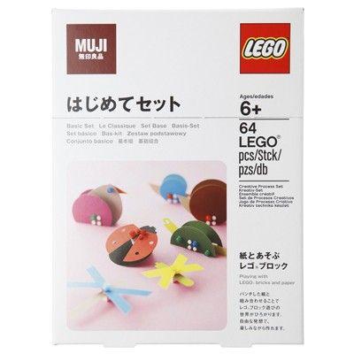 LEGO® Bricks and Paper