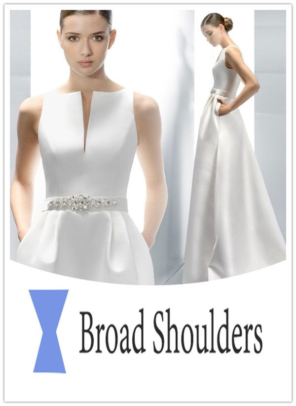 Best 25 broad shoulders ideas on pinterest dresses for for Wedding dresses for broad shoulders