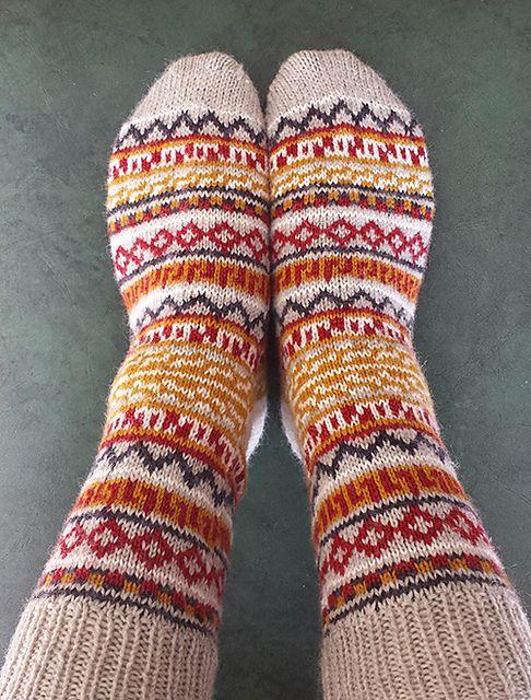Ravelry: Balthazar's Jumper Socks pattern by Kathleen Sperling