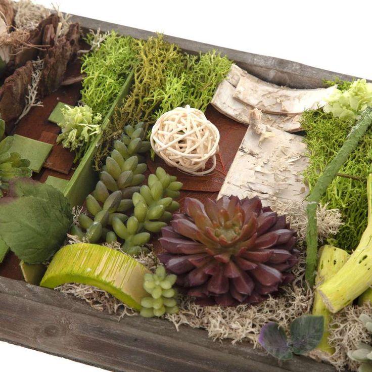 Las 25 mejores ideas sobre jardin vertical artificial en - Material para jardin vertical ...