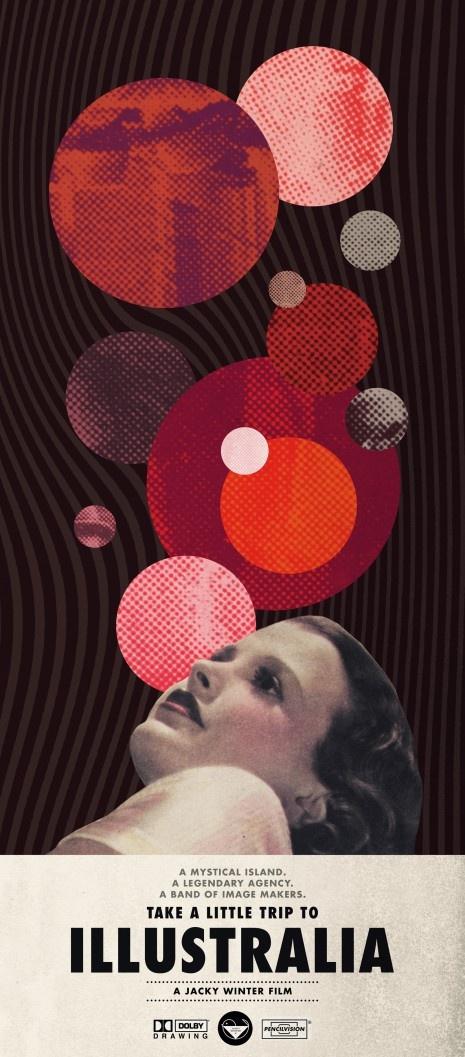 :: Trip to Illustralia ::: Artists, Art Circles, Picture-Black Posters, Art Posters Illustrations, Graphics Design, Collage, Colors Schemes, Heath Killen, Film Posters