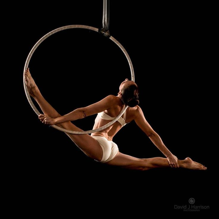 how to make an aerial hoop