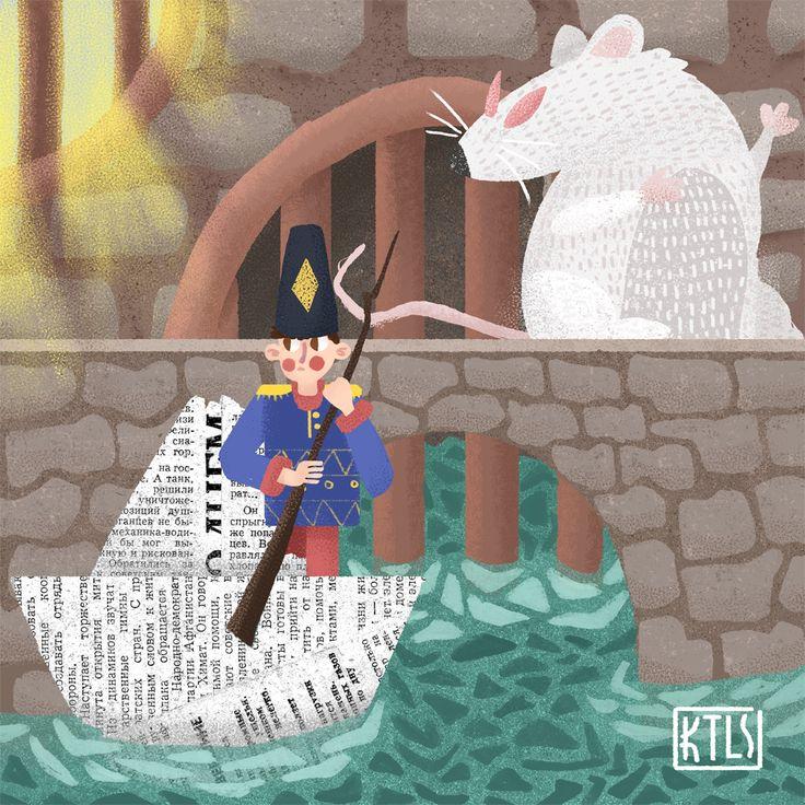 Просмотреть иллюстрацию Стойкий и оловянный из сообщества русскоязычных художников автора Сергей Тимченко в стилях: 2D, Детский, Книжная графика, нарисованная техниками: Компьютерная графика, Растровая (цифровая) графика.