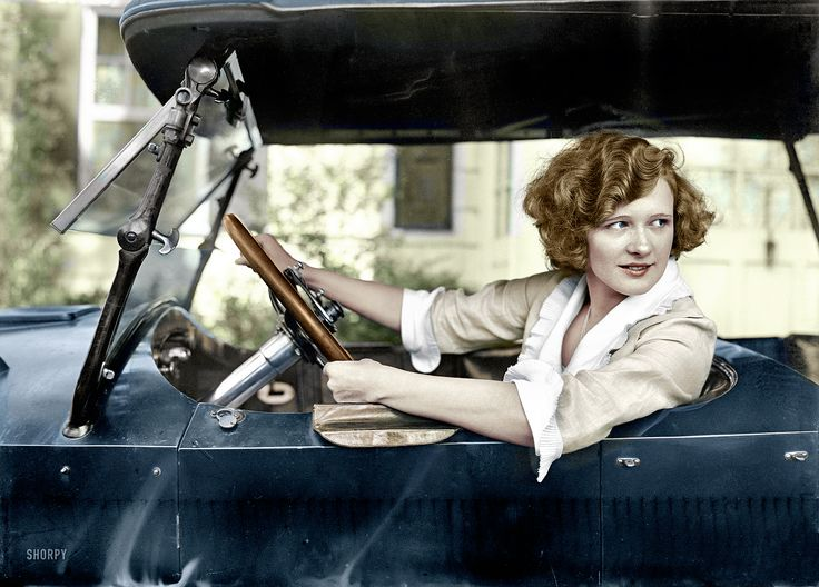Shorpy Historical Photo Archive :: Marilyn Miller (Colorized): 1921