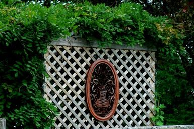 Build a Simple Lattice Screen to Hide That Eyesore You Abhor: Lattice screens can be attractive as well as functional.