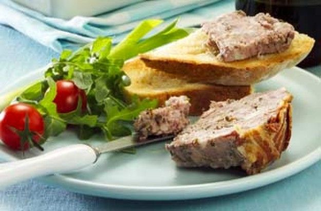 Nearly wild game terrine - Frm James Martin's French Adventure