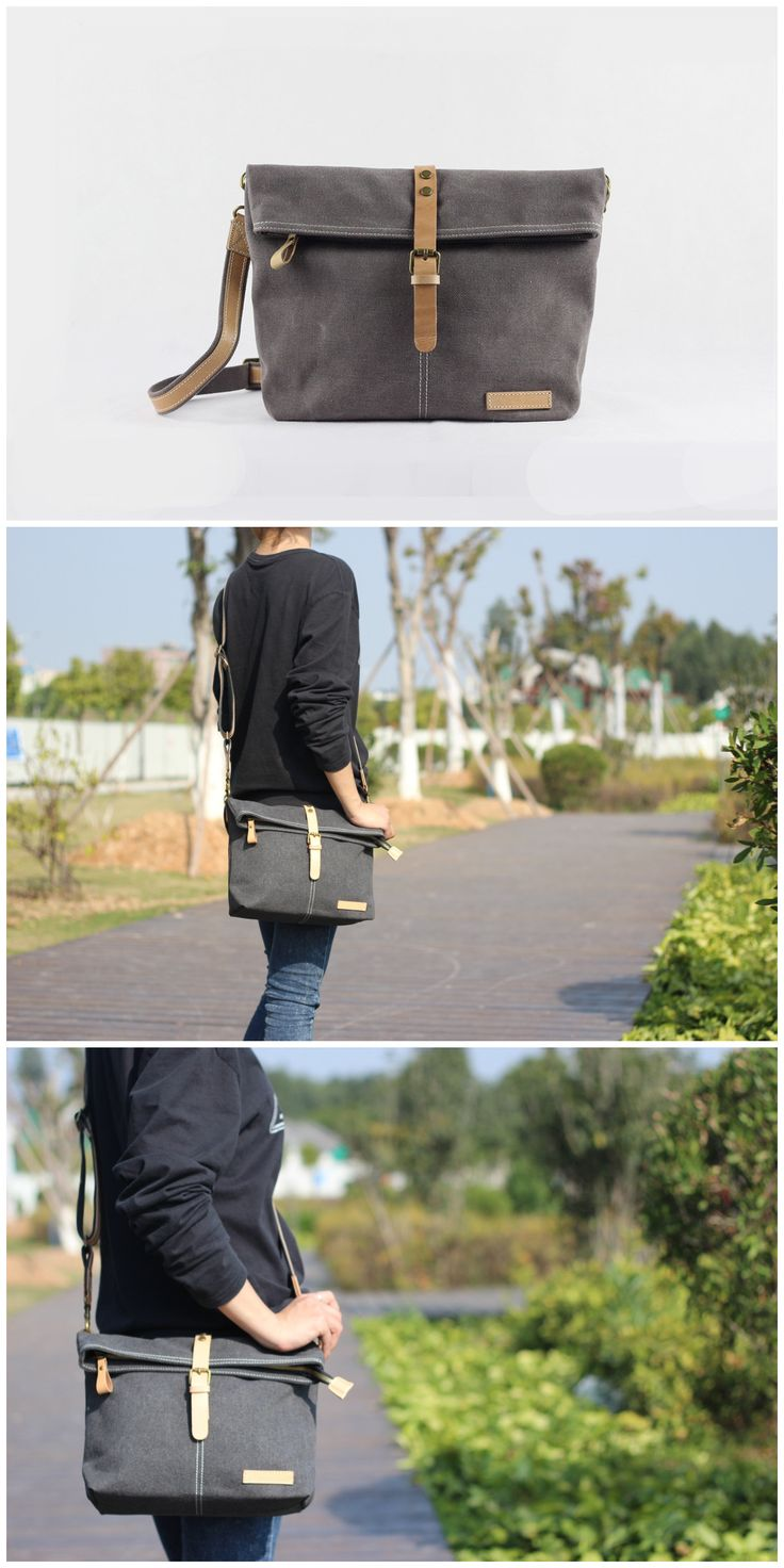 Handmade Waxed Canvas Leather Satchel Bag Messenger Cross body Bag Features: • Long Adjustable Shoulder Strap • Solid Quality Hardware • 20OZ waxed canvas • Inside pockets ****************************
