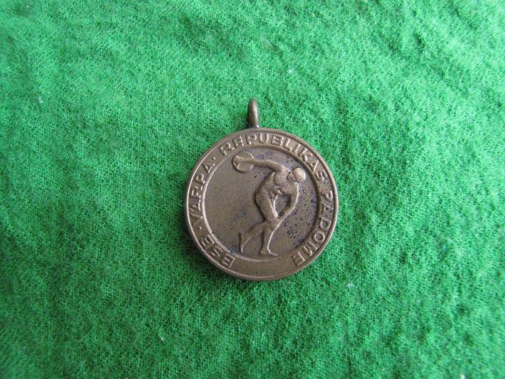 LPSR USSR Latvia Riga Sport Badge Medal BSB VARPA republican council padome