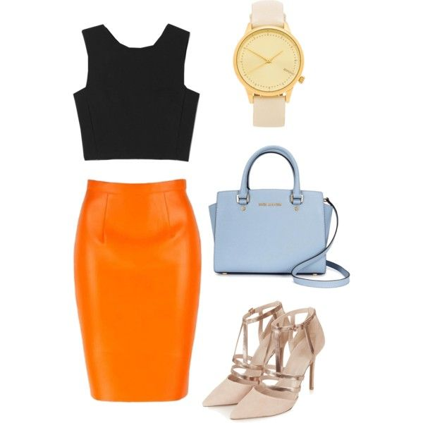 hot summer by kukii on Polyvore featuring polyvore, fashion, style, Theory, Topshop, Michael Kors and Komono