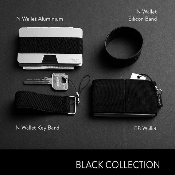 N Wallet, E8 Wallet, men's wallet, credit card holder, slim wallet, minimalist wallet. modern design wallet, Elephant Wallet