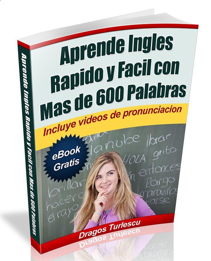 Como aprender ingles rapido y facil en casa? Descarga nuestro eBook gratis y empieza hablar ingles hoy!