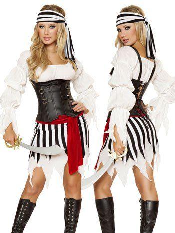 Sexy Pirate Princess Costume - LARGE