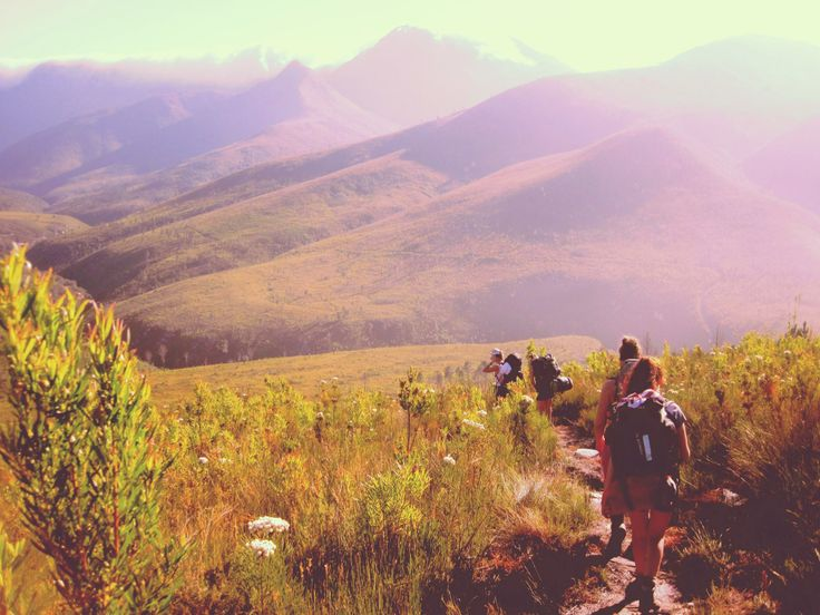 Tsitsikama hiking trail South Africa