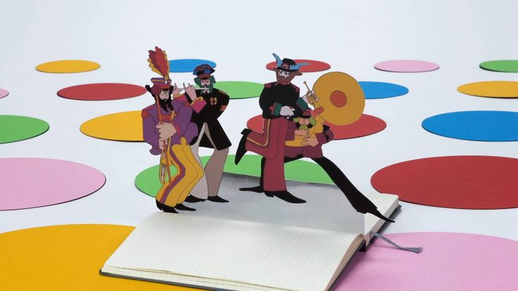 Moleskine promo video, Beatles Yellow Submarine
