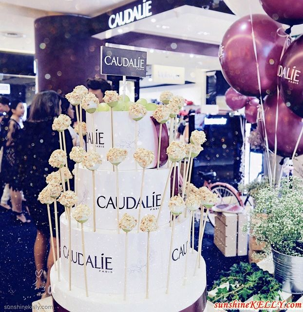 Caudalie Sunway Pyramid, Caudalie Malaysia, kensapothecary, Congratulations Caudalie Malaysia, kensapothecary, the renowned Vinothérapie® skincare brand, Caudalie officially extends its vines by opening its first standalone corner at Sunway Pyramid, Petaling Jaya, Caudalie First Standalone Kiosk in Malaysia, bandar sunway, beauty store opening, malaysia top beauty  blog