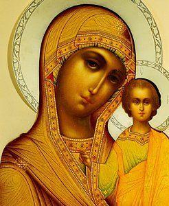 Icon of the Virgin Kazanskaya, Moscow, 1908-17 (silver-gilt), Smirnov, Dmitrii (fl.1908-17)