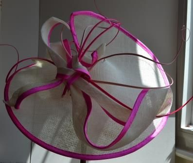 Mrs A wanted a big hat for her Goddaughter's wedding.