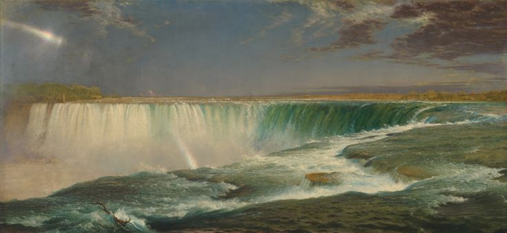 Albert Bierstadt Niagara falls - Google Search