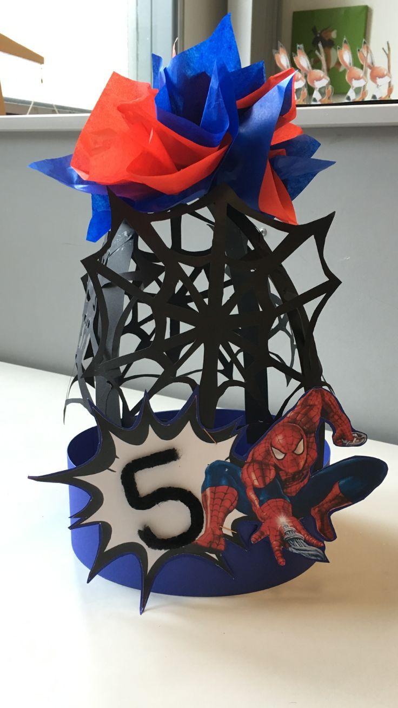 Spiderman verjaardagshoed