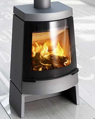 hwam stove 3320 Wood Burning Stove from HWAM   Modern Stoves