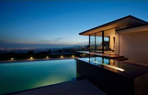 Mid-Century-Modernhouse-Beverly-Hills 6 Vera Wang's modern glass and steel home in Beverly Hills