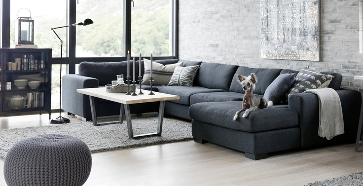 Sofa m sjeselong, hj?rnesofa og loungesofa ? Living.no Stue ...