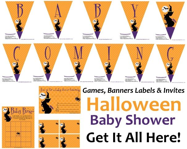 baby shower and halloween then you need this amazing free baby shower