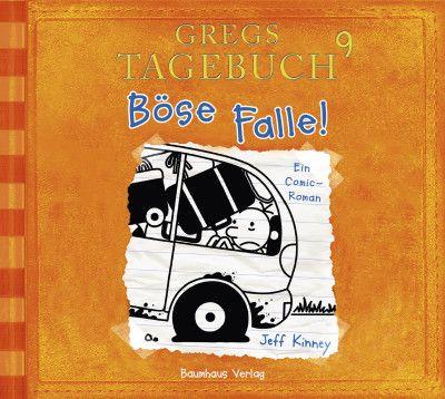 Gregs Tagebuch 9 - Böse Falle! | Jeff Kinney | Hörbuch | Wenn jemand eine Reise tut, so kann er was erzählen. Und wenn dieser Jemand Greg Heffley heißt, ist das Chaos vorprogrammiert. Dann gibt es jede Menge zu erzählen. Denn nicht nur Greg ist unterwegs, sondern die gesamte Familie Heffley. Auf einem Roadtrip der besonderen Art.