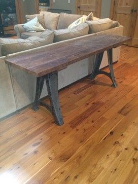 Industrial and Reclaimed Wood Console Table industrial-buffets-and-sideboards