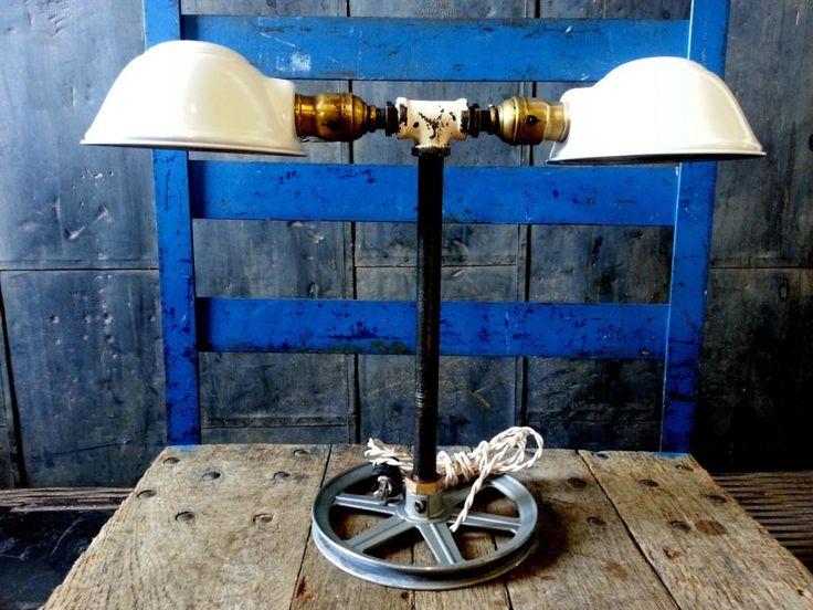 71 best custom desk lamps images on pinterest custom desk desk just custom lighting listings view vintage industrial factory task light reborn into rustic modern desk or table lamp aloadofball Choice Image