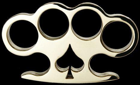 'Spade' - Custom Made Brass Knuckles [AMK-1008] - $99.00 : Brass Knuckles Company | Call Toll Free 1-888-604-2296