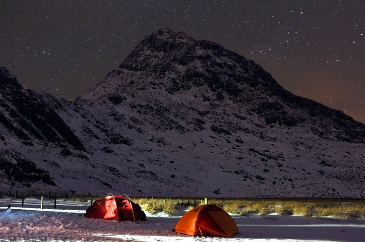 Camping under Tryfan - North Wales