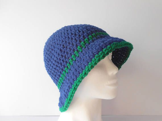 Clothing Gift for Her. Cloche Hat. Women's crochet Hat.